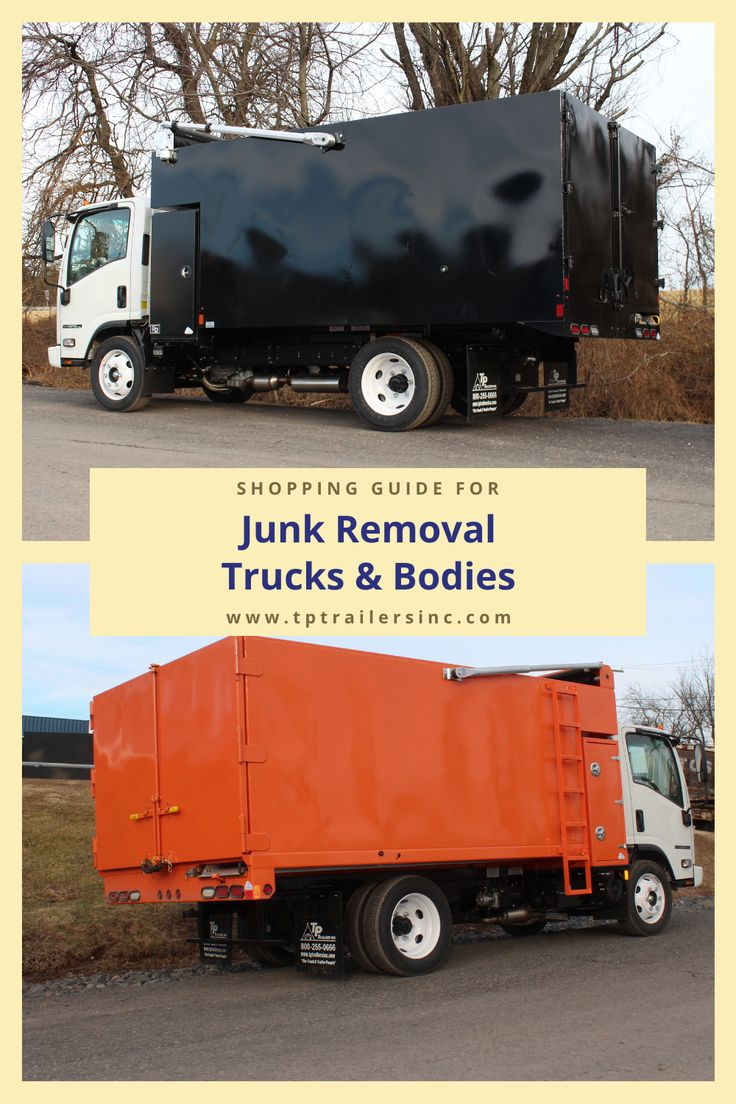 All About Junk Removal Trucks in 2020 Junk removal