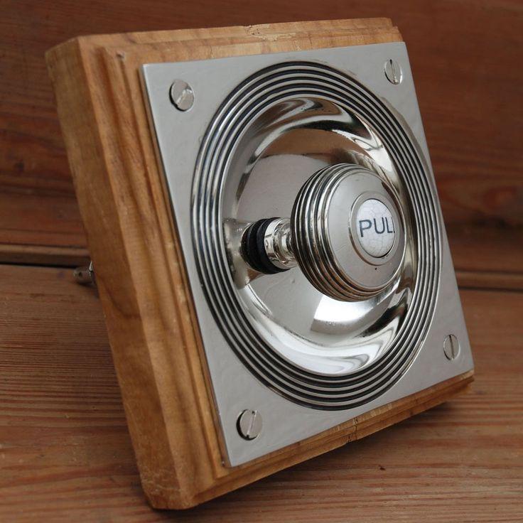 Nickel Claverley Bell Pull   Antique Door Bell - Best 25+ Door Bells Ideas On Pinterest Where Do Seahorses Live