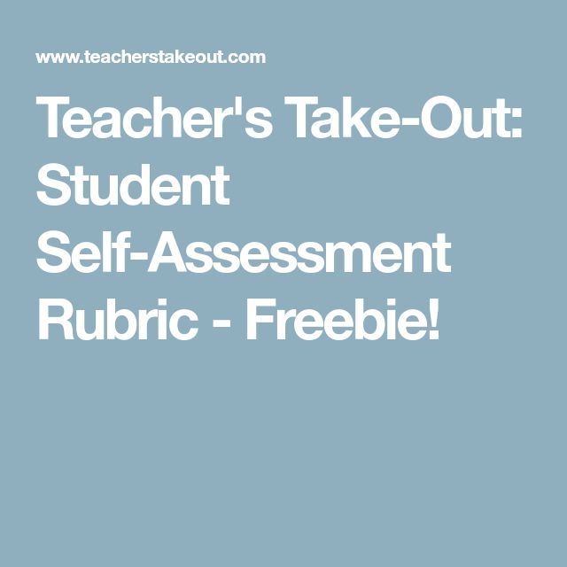 Best 25+ Student self assessment ideas on Pinterest Student self - student self assessment