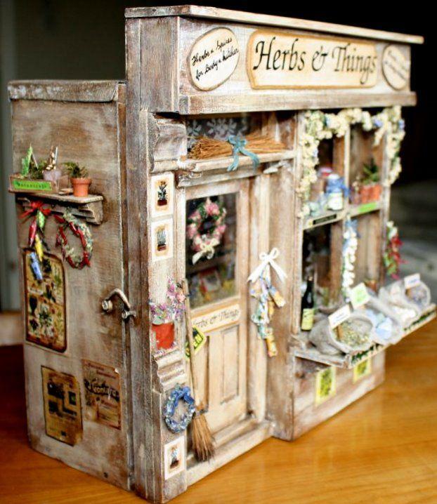 181 Best Room Boxes, Shop Boxes & Miniature Scenes Images