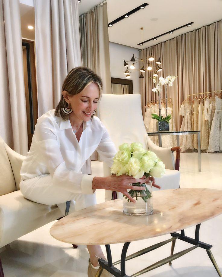 Flower arrangements - white top- Silvia Tcherassi Atelier