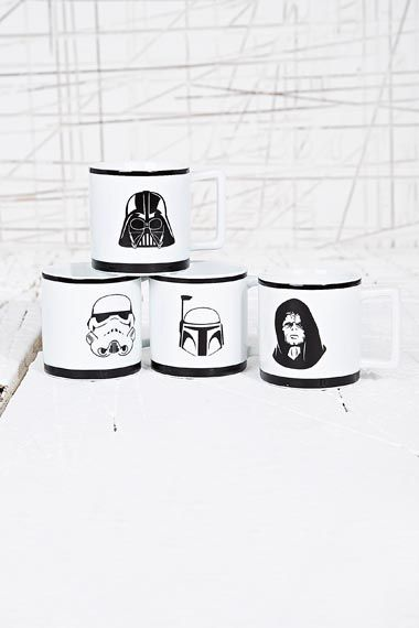 Ensemble de tasses Expresso Star Wars chez Urban Outfitters
