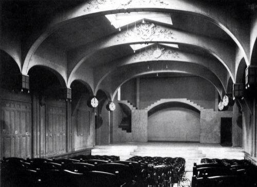O revolucionário espaço do Théâtre du Vieux-Colombier
