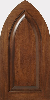 regal s461 design in natural standard grade sipo flat cut mahogany with wiping stain cabinet - Cabinet Stain