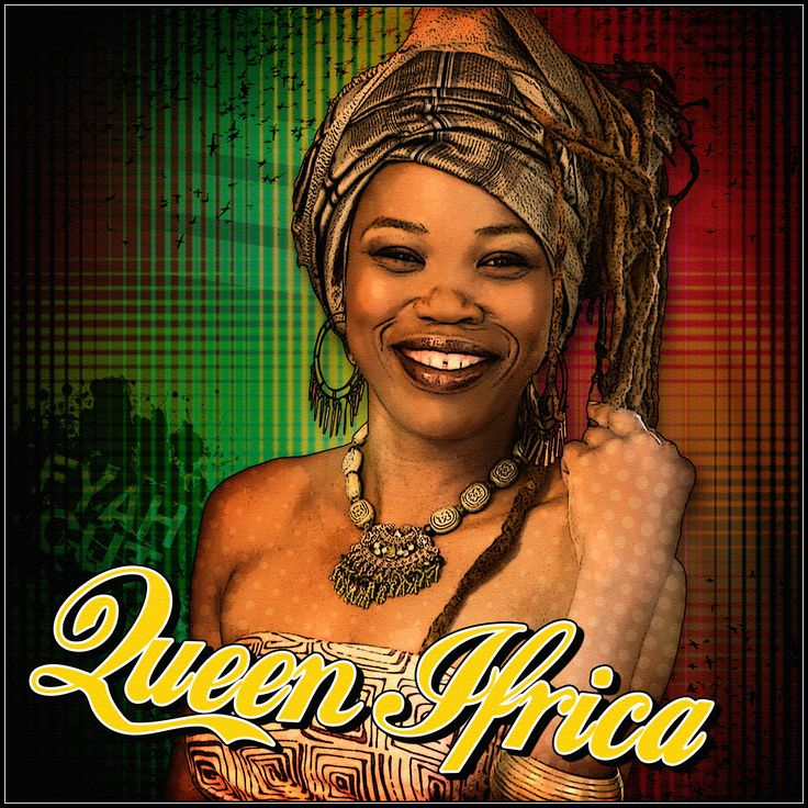 Queen Ifrica Cartoon Art Design