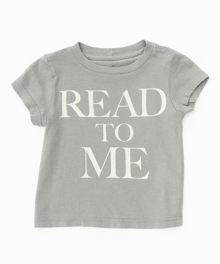 Read to Me Tee - Baby Boys - Shop - new arrivals | Peek Kids Clothing