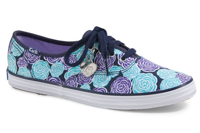 Taylor Swift Debutsa Fall Footwear Collection for Keds: Taylor Swift for Keds Rose Champion sneakers