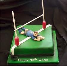 Rugby Cake Ideas