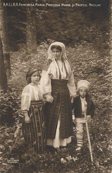 Regina Maria, Romania