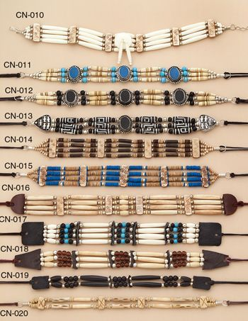 Native American Chokers | Raddest Men's Fashion Looks On The Internet: http://www.raddestlooks.org