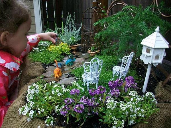 little fairy gardens
