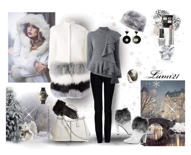 winter by lumi-21 on Polyvore featuring Antonio Marras, Ava Adore, Replay, Stuart Weitzman, Coach, Kenneth Jay Lane, Toy Watch, Inverni, UGG and SUQQU