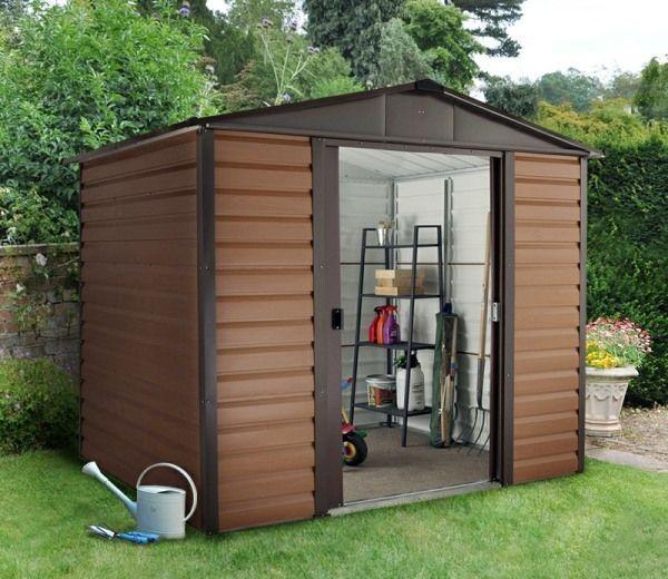 best 25 metal shed ideas on pinterest metal sheds uk. Black Bedroom Furniture Sets. Home Design Ideas
