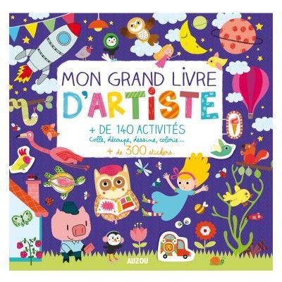 Mon Grand Livre d'Artiste Editions Auzou - Magasin de Jouets pour Enfants