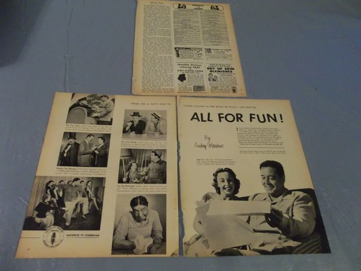 Jackie Gleason with Audrey Meadows  clipping #724