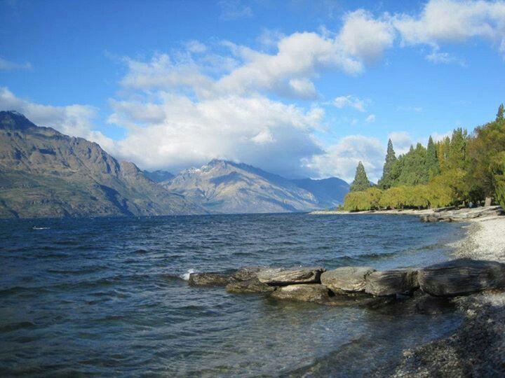 Lake Wakatipu, Queenstown, South Island NZ