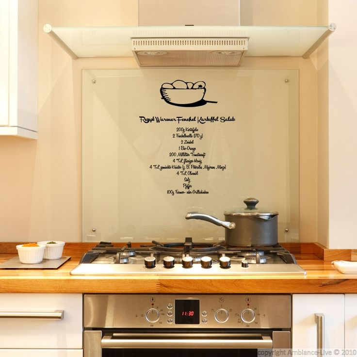 84 best kitchen wall decals images on pinterest - Stickers muraux pour cuisine ...