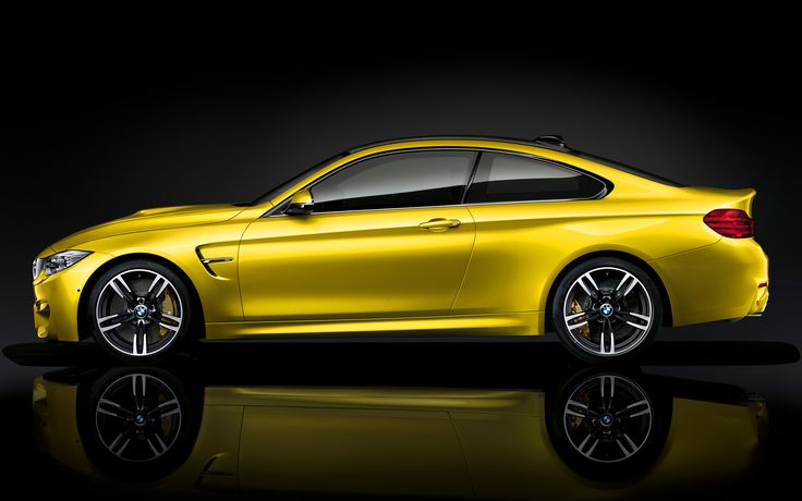 With carefully engineered Carbon Fiber Reinforced Plastic components, incredibly precise handling, and new exclusive M colors like Yaz Marina Blue and Austin Yellow, the first-ever BMW M4—available as a Coupe or a Convertible—is an evolution of the M concept, even in its first year. #BMW #M4 #PerformanceBMW