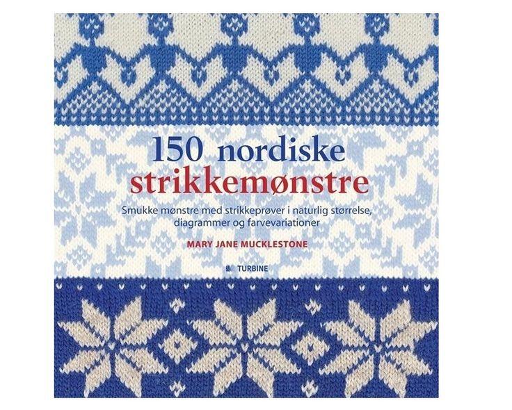 150 nordiske strikkemønstre af Mary Jane Mucklestone - Strikkepinden.com