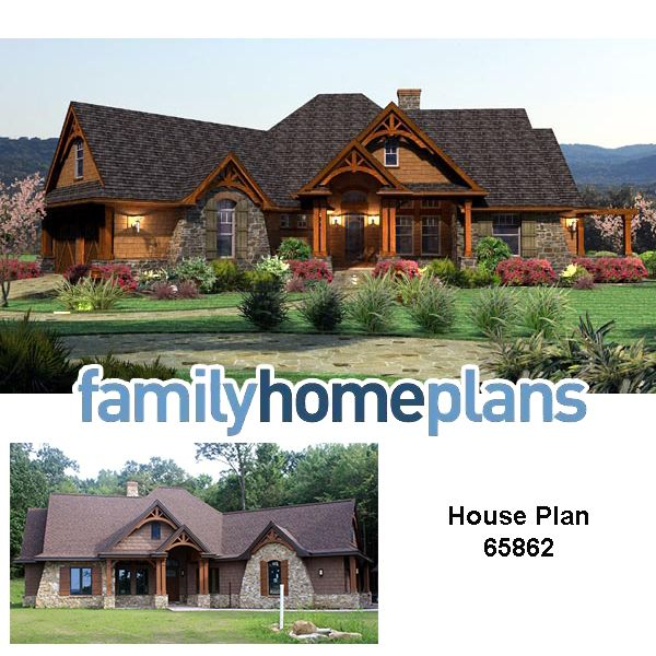 Cottage Craftsman Tuscan House Plan 65862 House Plans