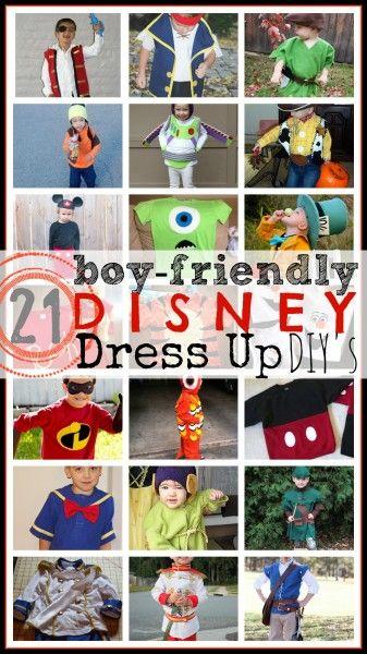 Great Disney Dress ups for Boys! #Disney #boys Tipsaholic.com