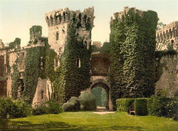 Raglan Castle, UK
