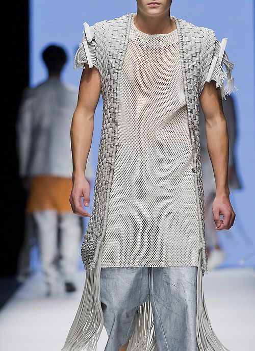 Per Hansson - The Swedish School Of Textiles S/S 2015 Menswear Stockholm Fashion Week