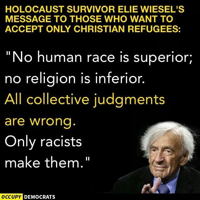 the effects of holocaust to humanity in elie wiesels story night The life of elie wiesel by: his life during the holocaust later, wiesel wrote night to show to the world night, wiesel tells his story through a young.