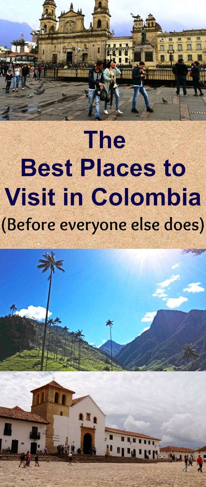 Visit these highlights of Colombia before it gets too touristy!