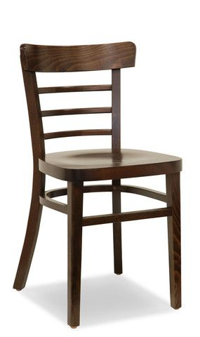 Bon Bello Bentwood Dining Chair in Dark Walnut with timber seat. $139 and Free Shipping Australia Wide