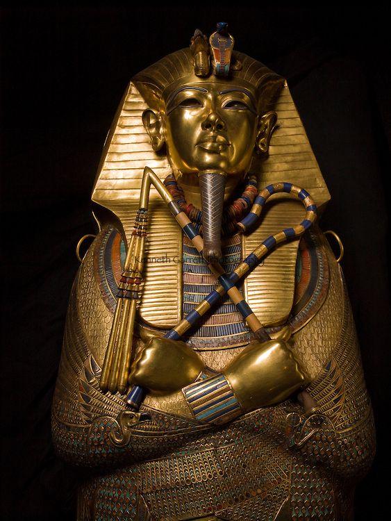 Egypt Gold | Tut DNA, MM7864, King Tutankhamun, Egypt, Egyptian Museum, Gold ...