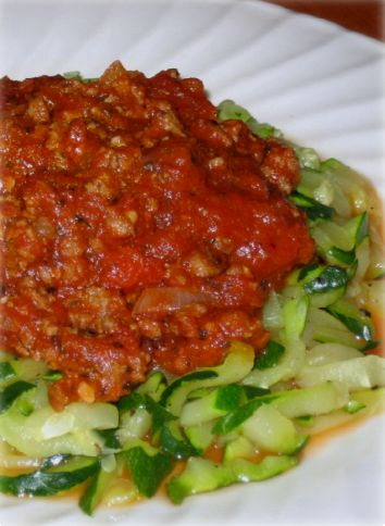 Zucchini Spaghetti Hcg Recipe | might have to play around with this one
