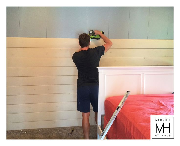1000 ideas about shiplap boards on pinterest garage - How to install shiplap on interior walls ...