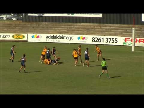Highlights from Day 2 of the 2012 U18s Youth Girls National Championships from Adelaide  Victoria vs Western Australia. #changethegame