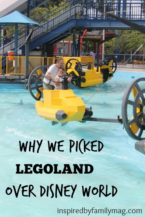Why We Picked LEGOLAND over Disney World - We found ourselves trying to figure out which entertainment park to enjoy. It was a tough decision.  Have you gone to LEGOLAND?