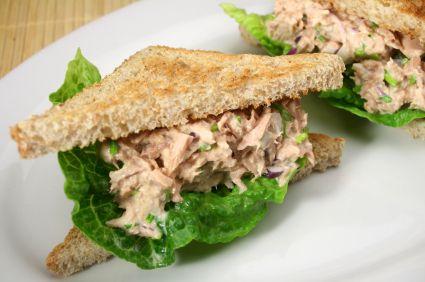 Tuna fish sandwich | Healthy Food | Pinterest