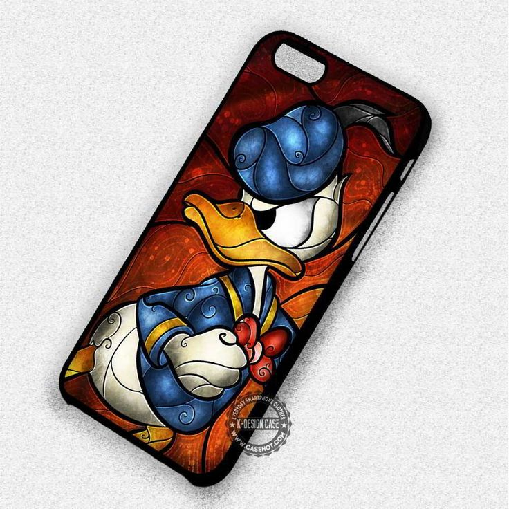 Duck Wears Sailor Clothes Donald Cartoon - iPhone 7 6 5 SE Cases & Covers