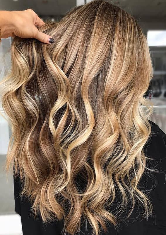 Gorgeous Long Golden Blonde Hair Styles To Show Off In Year 2020 Fashionsfield Hair Styles Dark Blonde Hair Color Golden Blonde Hair
