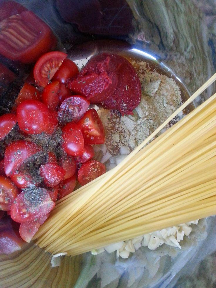 Veganeren: One pot pasta - alt i en gryte!
