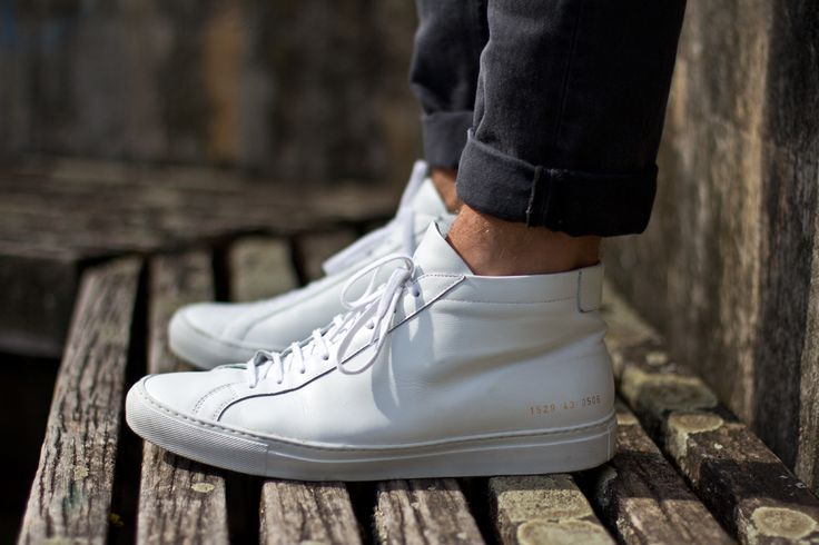Common Projects Achilles Mid White http://www.bungalow-gallery.com/common-projects-sneakers-white-1635/