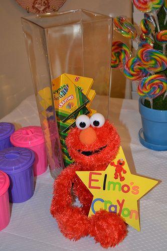 LOTS of Sesame Street birthday ideas  (party favors, invites, etc.)