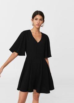Платье с расширенной юбкой