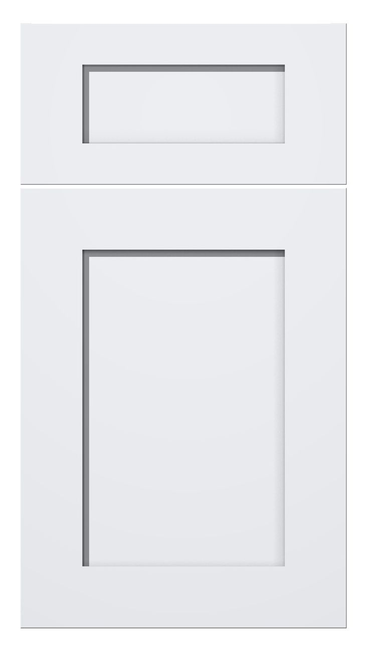 Nickels cabinet shaker style door in designer white for Meridian cabinet doors