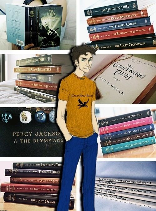 Percy Jackson and the books! After TBOO no more Percy Jackson............let that sink in