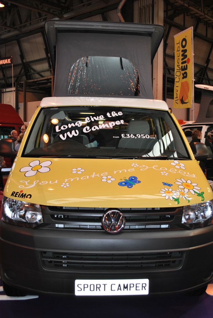 "Glossop Awnings on Twitter: #campervan #VW Love this! ""You Are My Sunshine ... You Make Me Happy ..."""