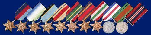 British Medals of World War Two.