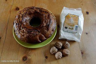 Colher de Mãe: Bolo de nozes e mel com farinha de espelta