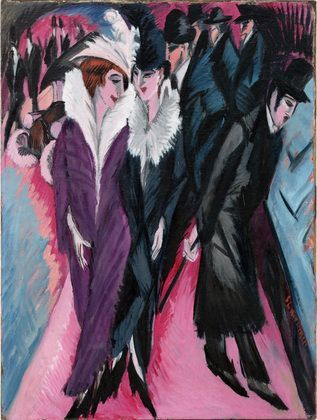 MoMA | Kirchner and the Berlin Street :)