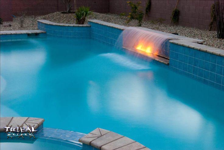 52 Best Tribal Waters Custom Pool Gallery Images On Pinterest Custom Pools Pool Spa And