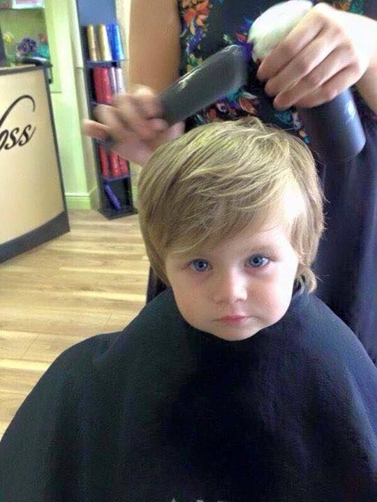 Theo Horan (Niall's nephew) I guess those eyes run in the family